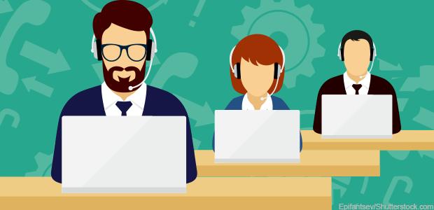 پاسخگویی به تلفن های سازمانی