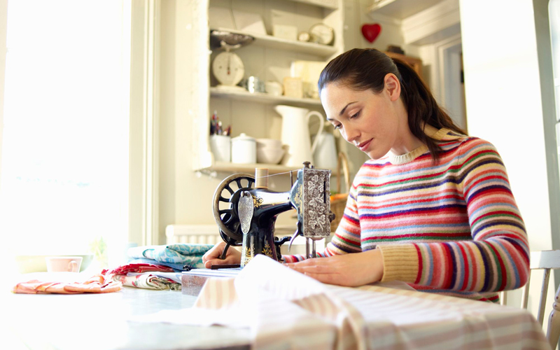 فروش صنایع دستی در خانه