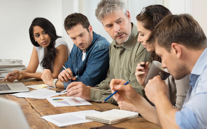 برگزاری جلسه کاری مفید