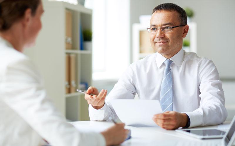 ورود به بازار کار مصاحبه