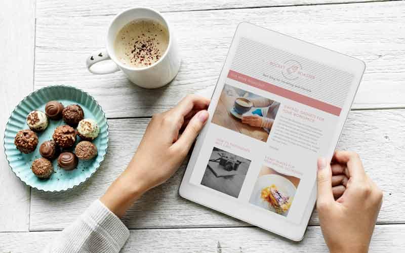 کسب درآمد از راه اندازی وبلاگ شکلات قهوه